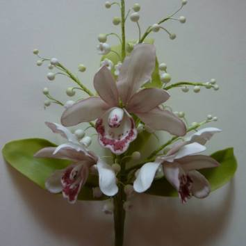 Orchid, Lily of the Valley