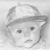 William. First attempt at drawing from a photograph